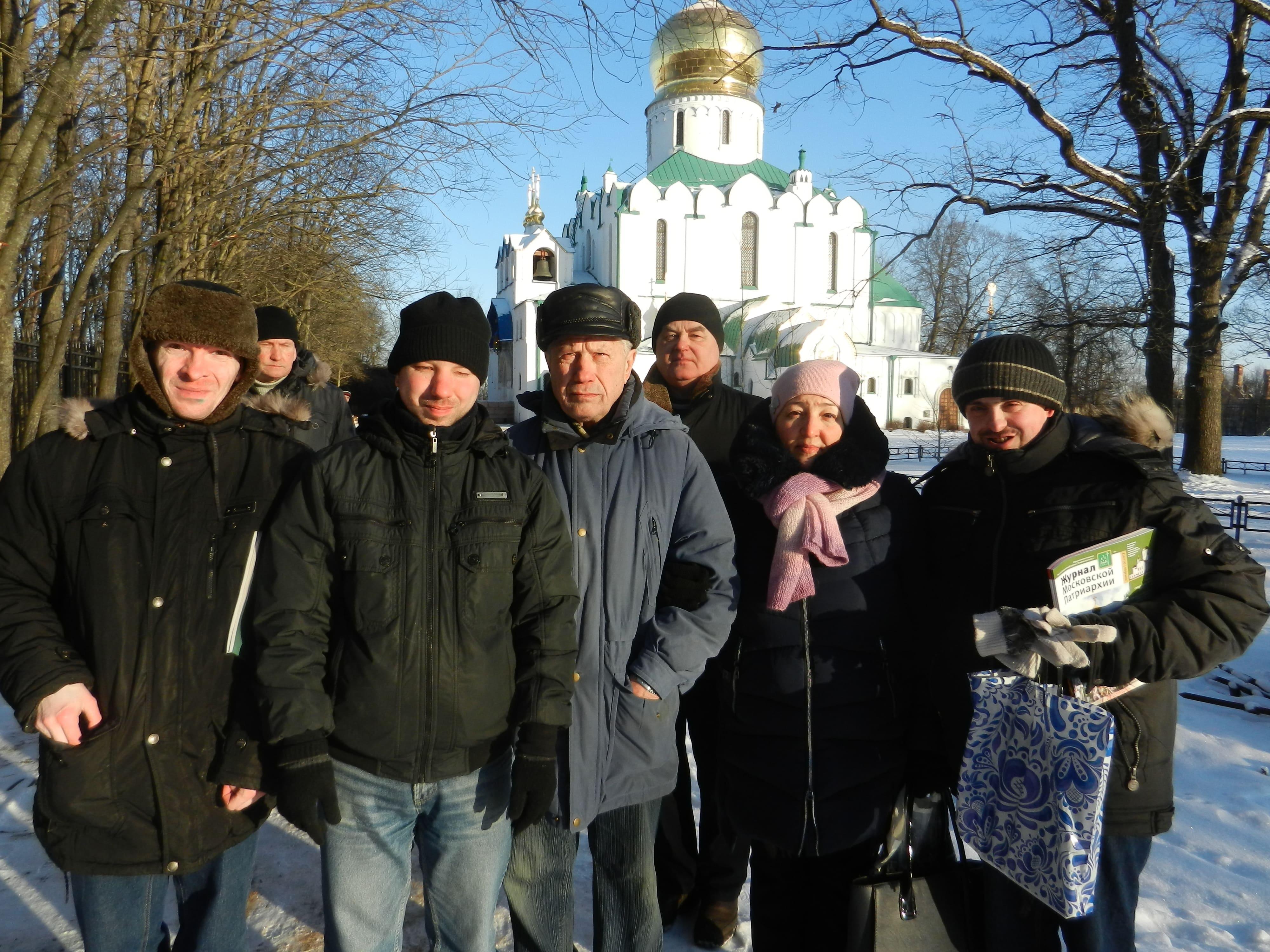 Экскурсия: г. Пушкин, Александровский парк, Феодоровский Государев собор.