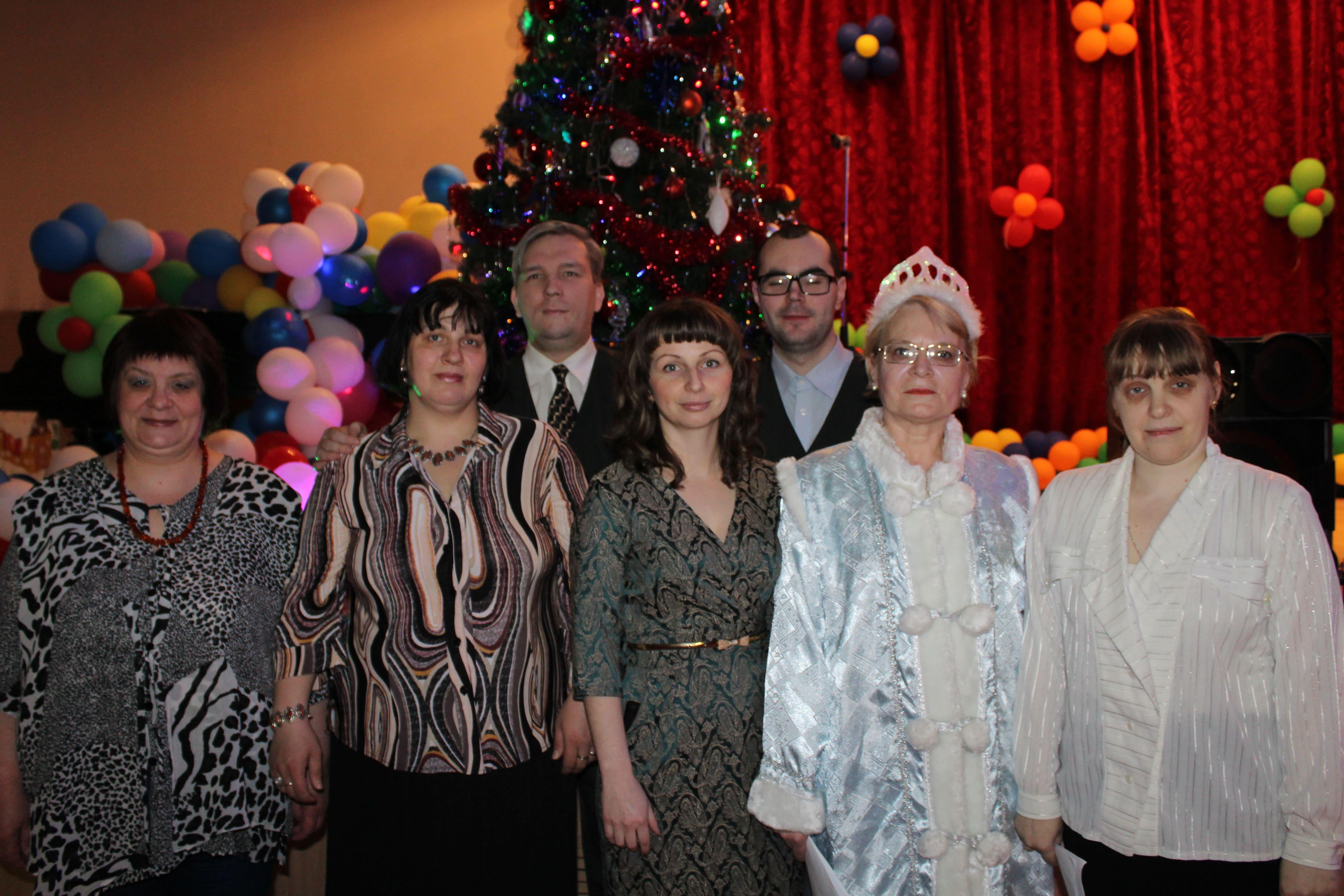 Театрализованное представление на Старый новый год