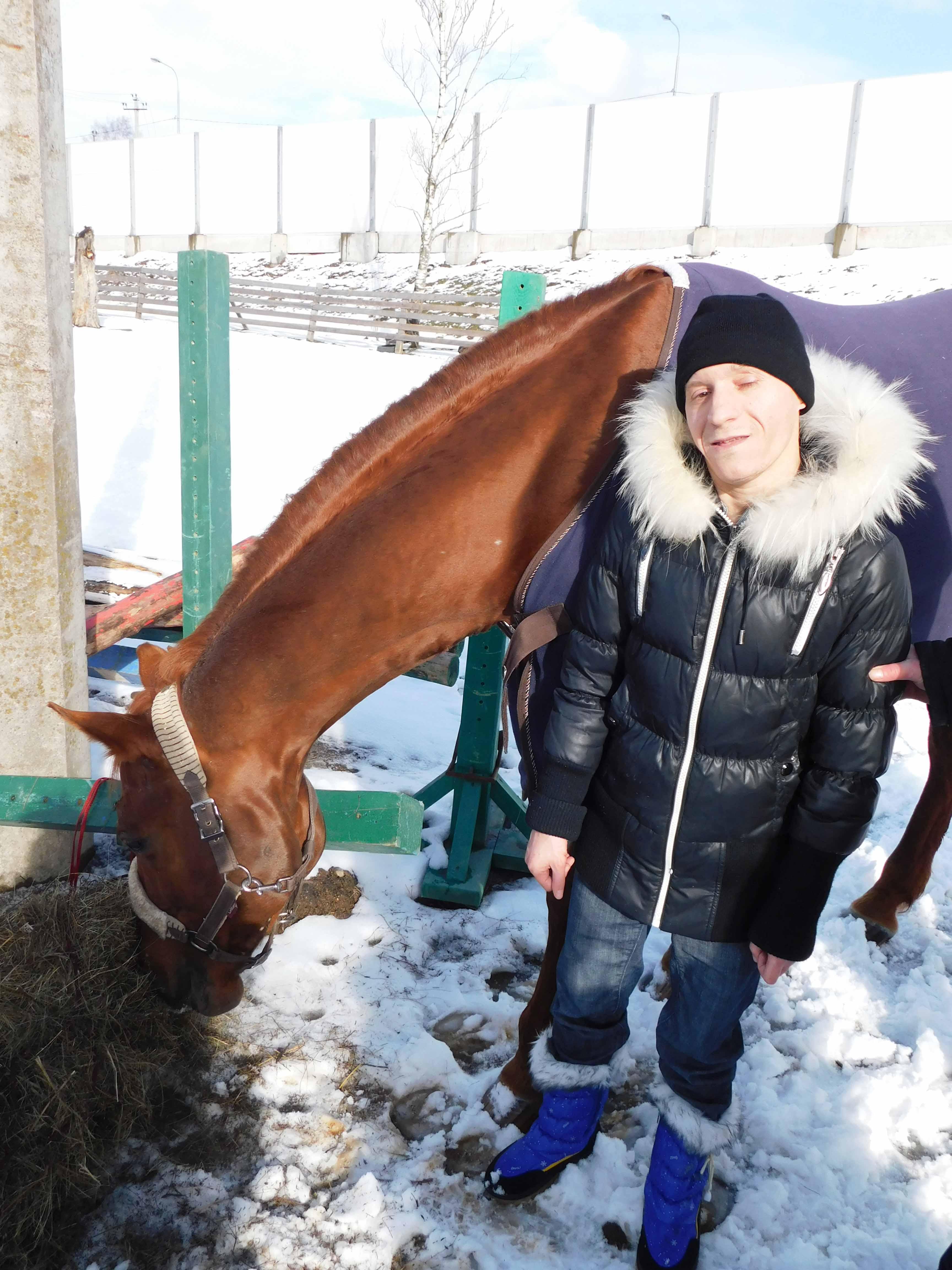 Иппотерапия в конно-спортивном клубе «Баядера»