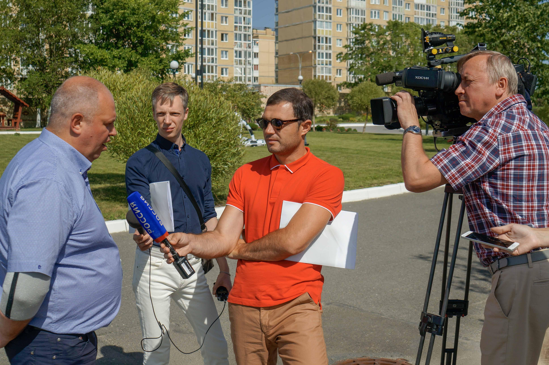 СМИ посетили ПНИ №9